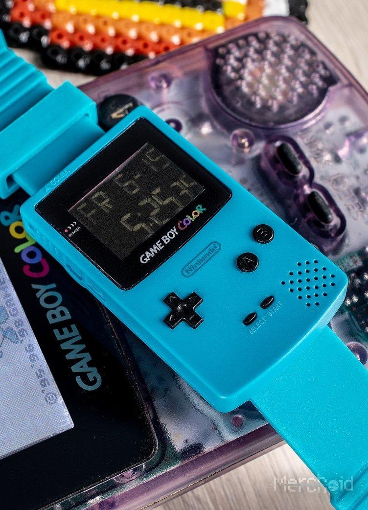 任天堂公認 ゲームボーイカラー型腕時計 超かわいいので両腕に欲しい