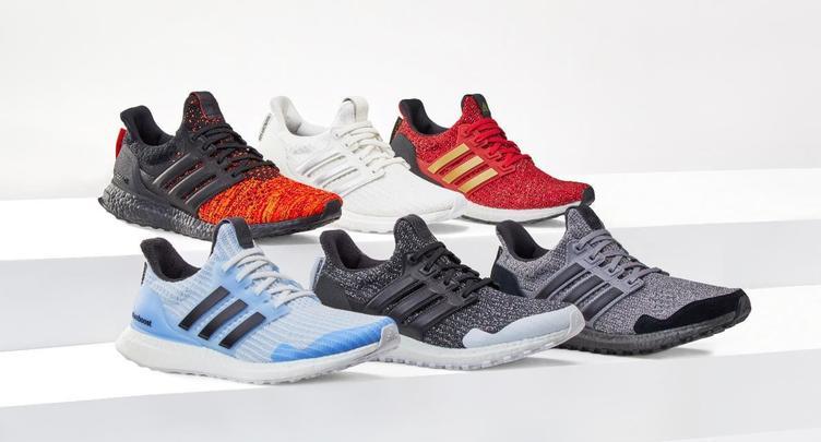 """adidas「ゲーム・オブ・スローンズ」コラボ 春、名家を""""履こう"""""""