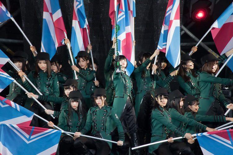 欅坂46「欅共和国2017」がYouTube配信 初の野外ワンマンで見せつけた凄み
