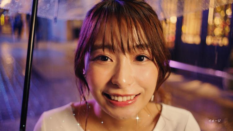 宇垣美里がカメラ目線で「好きかも」とささやく 先輩と同僚演じるCM公開