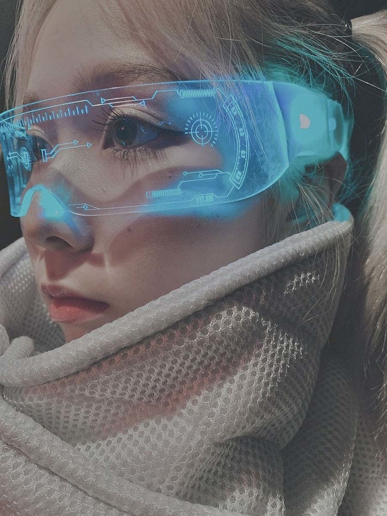 みんなが憧れたあのアイテム!「サイバーメガネ」でロマンを装着