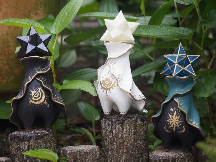 不思議かわいい「星の子ライト」 異世界からやってきたいつも仲良し三兄弟