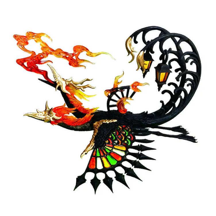 カプセルトイ「空想生物図鑑」シリーズ新作は幻獣×大正モダン「浪漫幻鳥」