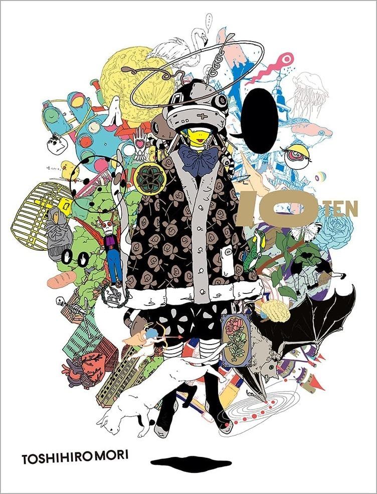 イラストレーター 森俊博、10周年で初作品集 3年ぶりとなる個展も開催