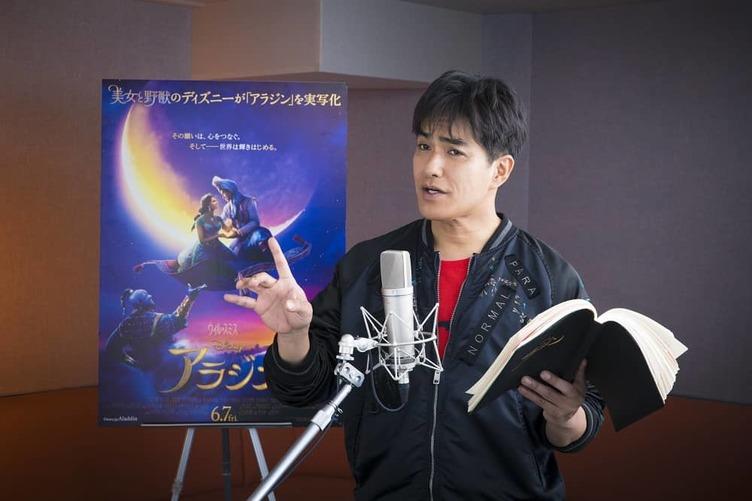 北村一輝『アラジン』吹き替えでジャファー役 「かなり悪いヤツ」