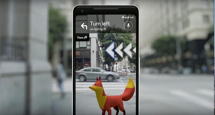 Googleマップの進化、映像とCGキャラクターによる道案内が可能に