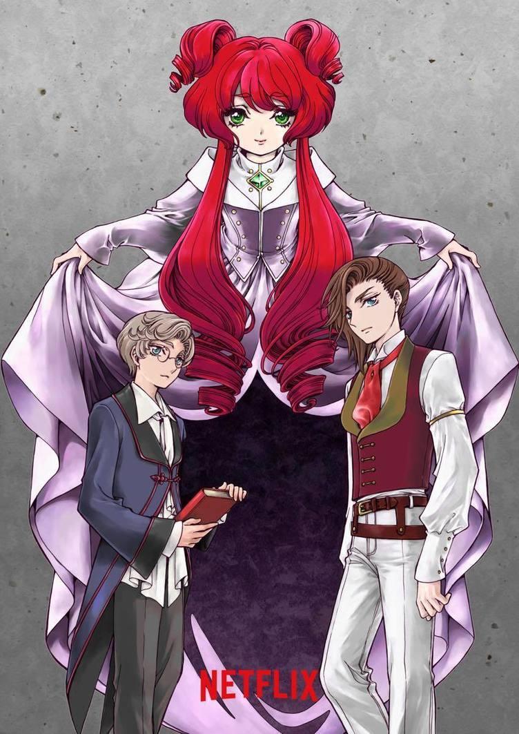 CLAMPが描くアニメ「グリム童話」 Netflix制作のサスペンスホラー
