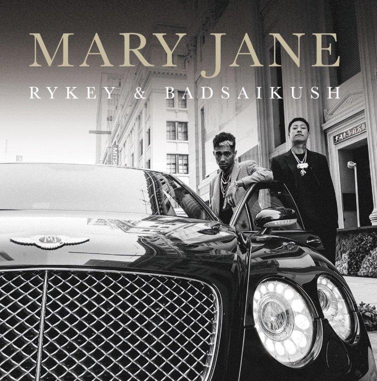 舐達麻 BADSAIKUSH×RYKEY『Mary Jane』 2人のラッパーによる初アルバム