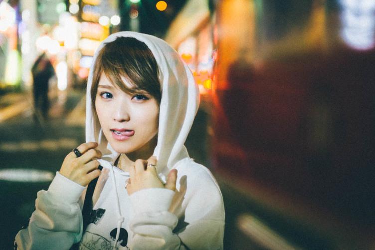 """【写真】ハロプロ""""ガチ勢""""の椎名そらが愛する「つんくイズム」"""