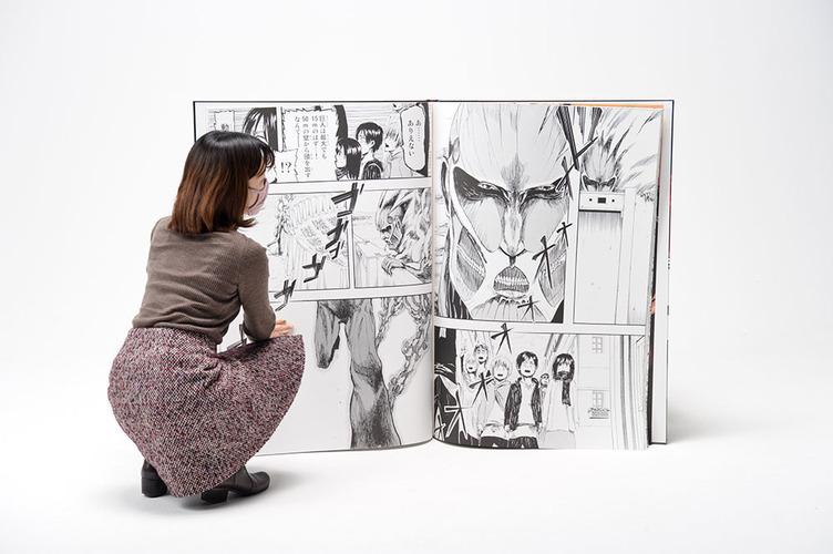 ゴゴゴゴッ! 超大型コミックス『進撃の巨人』限定発売 100冊売ればギネスに