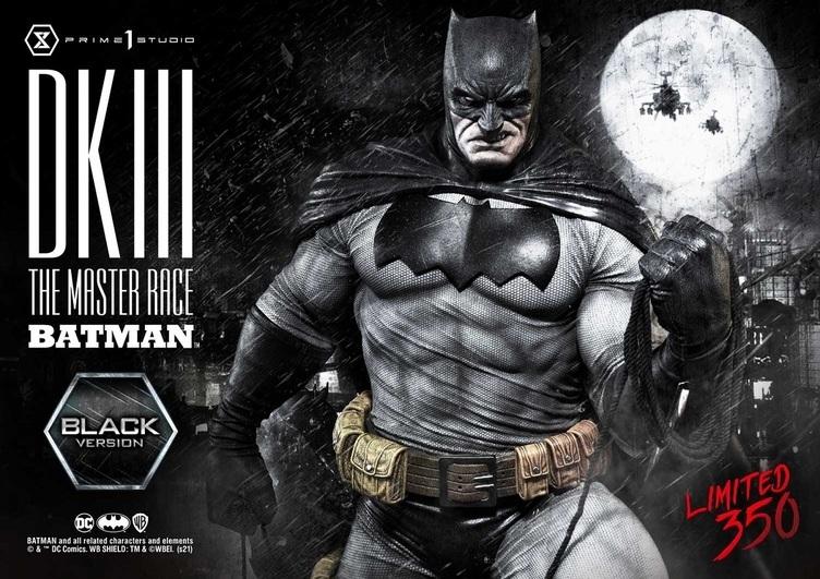 老年のバットマンを圧巻再現 100cm、33kgを誇る世界350体限定の立像作品