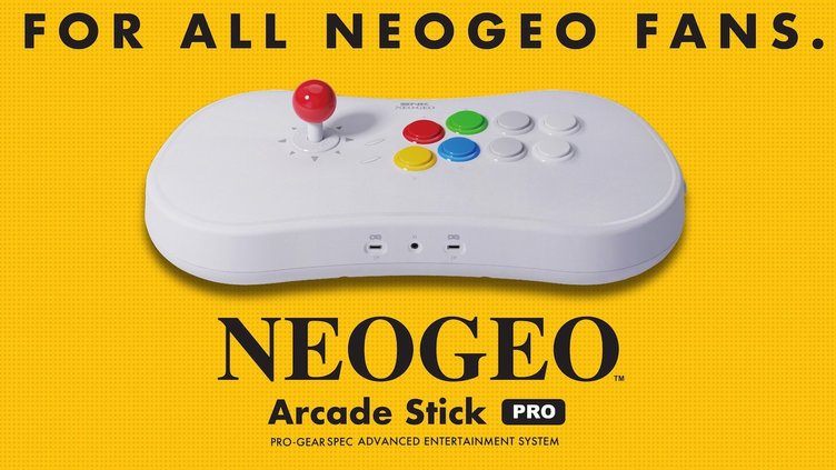 NEOGEOの格ゲー20作をアケコンに内蔵「NEOGEO Arcade Stick Pro」