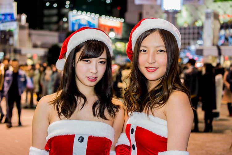 【写真】クリスマスのサンタ女子 渋谷に集まる10代はどんな子?🎅