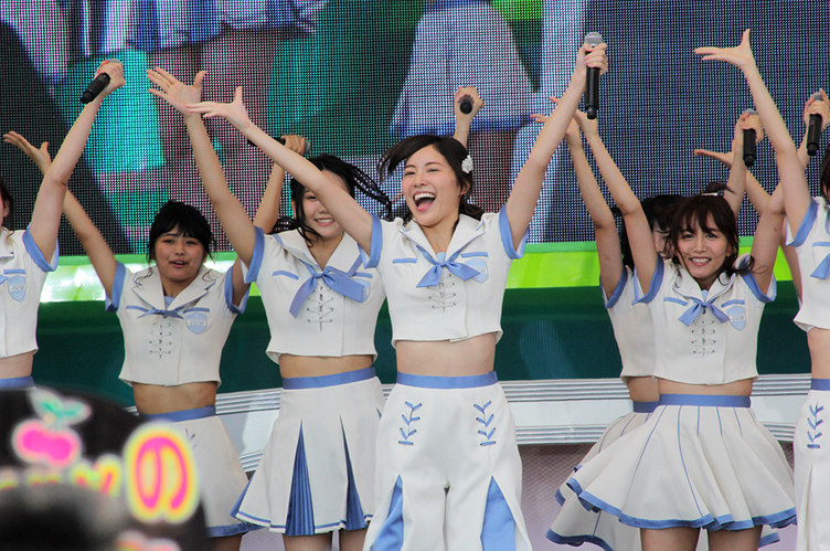 【TIF2017】SKE48らしさ全開汗だくステージ! 大矢真那の卒業公演発表も