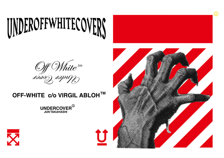 Off-White×Undercover ヴァージル・アブローと高橋盾のセンス融合