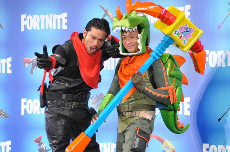 『フォートナイト』TVCMにTOKIO出演 城島「島に降り立つ設定が大好物」