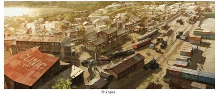 『シン・エヴァ』第3村のミニチュア展示へ 神は細部に宿るってこういうことか…!