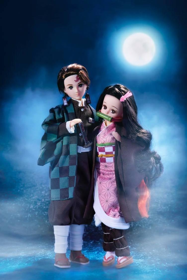 炭治郎と禰󠄀豆子がリカちゃん人形に! 流行を取り入れ愛され続けて半世紀