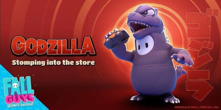 『Fall Guys』がゴジラとコラボ! ライバルを蹴散らして怪獣王になろう