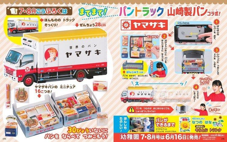 『幼稚園』が山崎製パンとコラボ 「ナイススティック」など定番がミニチュアに