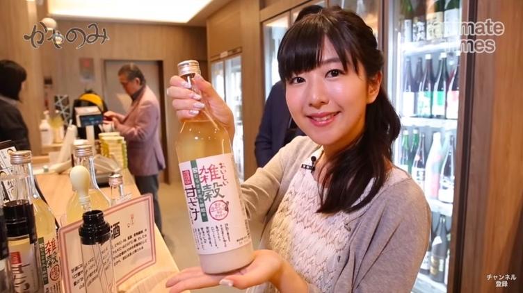 茅野愛衣さんが日本酒を飲み食べる「かやのみ」イベント決定