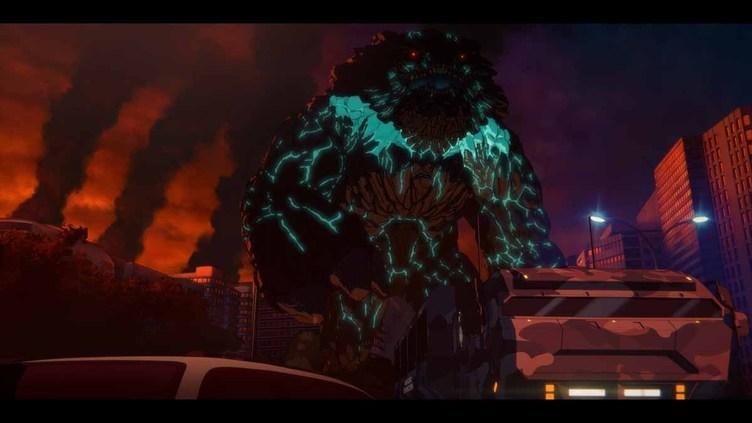 Netflixアニメ『パシフィック・リム:暗黒の大陸』2021年春に配信 禍々しいKAIJUの姿