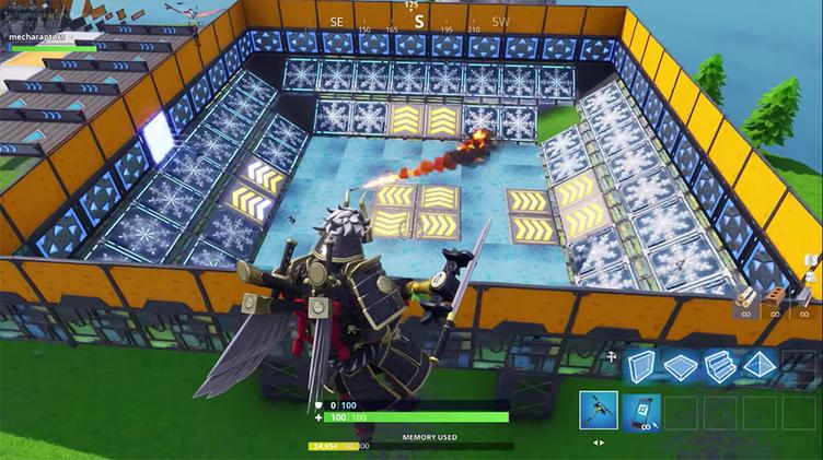 『Fortnite』でゲームを設計できる新モード 建築系バトルロイヤルの拡張性