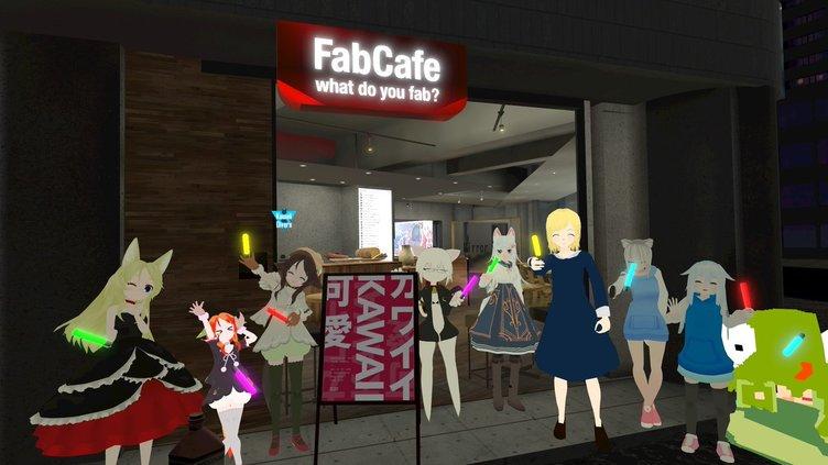 渋谷FabCafeで「VRChat」パーティ リアルもバーチャルも同時開催