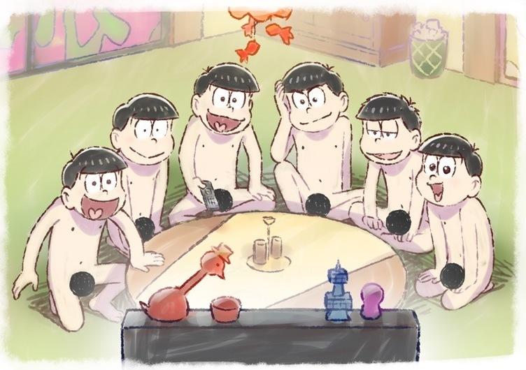 『おそ松さん』第3期いよいよ! 6つ子の全裸待機ビジュアル公開(公式)