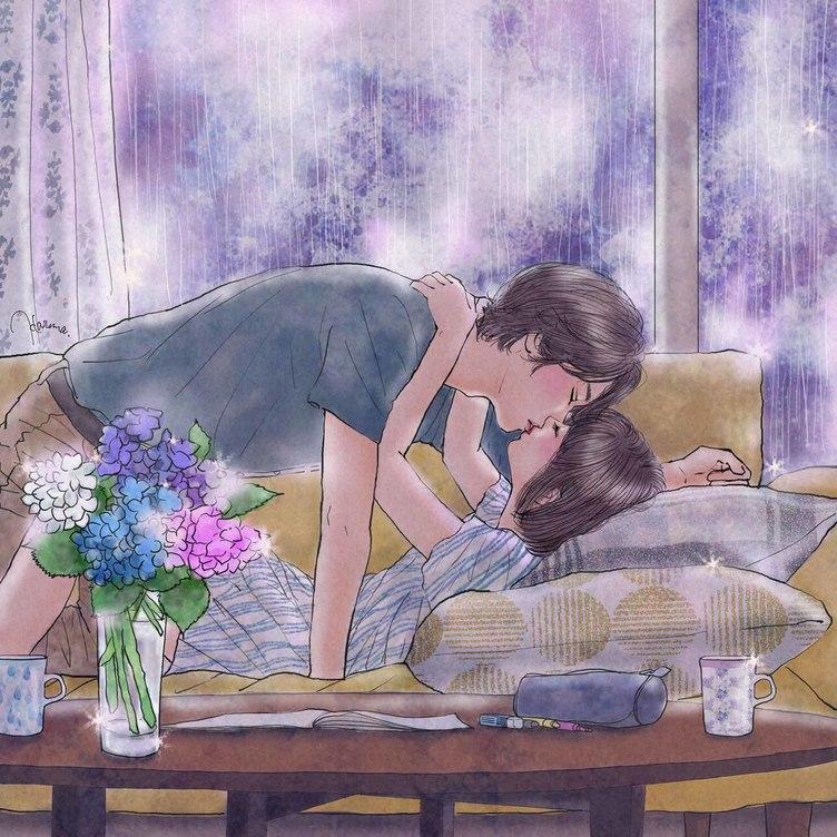 雨の日に恋しちゃう? 「アメニモ」キャンペーンのイラストに鬼萌え