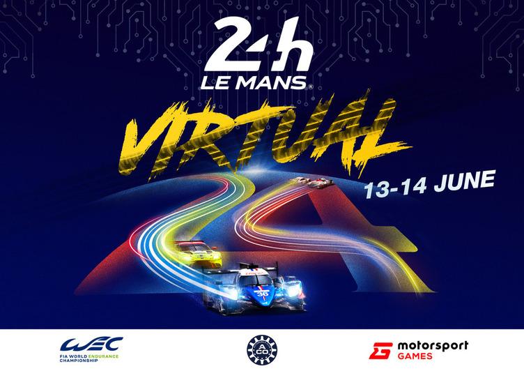 「ル・マン24時間ヴァーチャル」開催 プロが仮想世界で24時間耐久レースに挑む