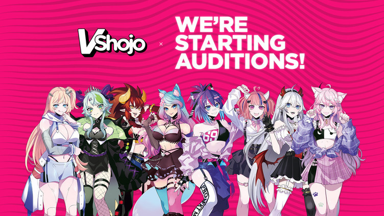 「VShojo」が初オーディション Twitch創業者による米VTuber事務所