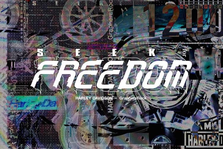 GraphersRockがバイクをデザイン ハーレーとの「SEEK for FREEDOM」始動