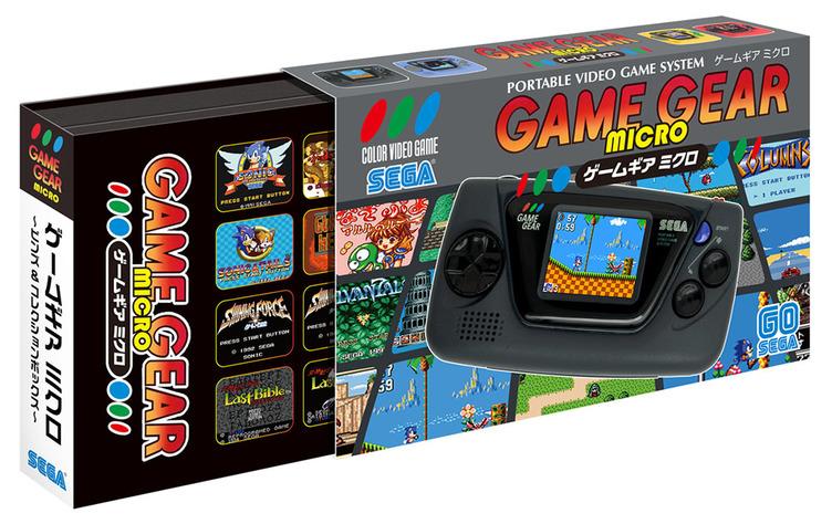 ちっっっさ! セガ60周年記念、手のひらサイズの「ゲームギアミクロ」発売
