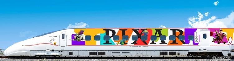 JR九州×ディズニー 『トイ・ストーリー』など人気作が九州新幹線を彩る
