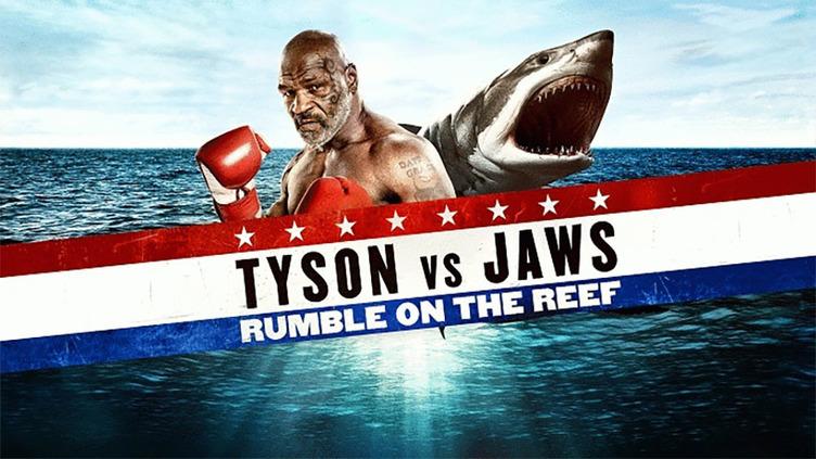 夏だ!サメだ!最強だ! マイク・タイソンとウィル・スミスがサメと対決