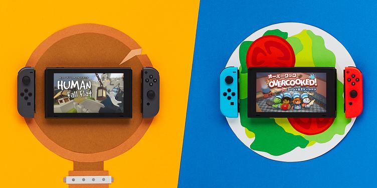 Nintendo Switch1台で遊べる協力/対戦ゲーム5選! 友情が崩壊しかねない😱❓
