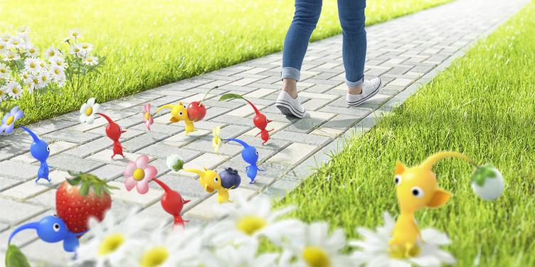 『ピクミンGO』くる? Nianticと任天堂「歩くことを楽しくする」アプリを共同開発