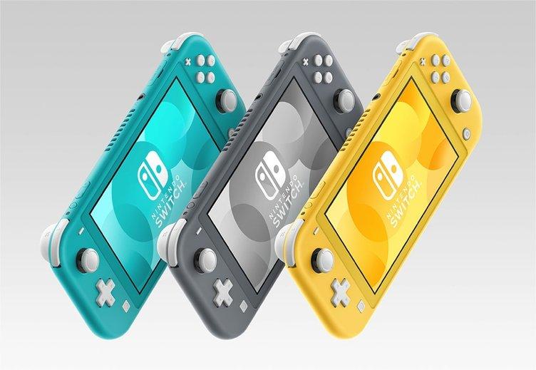 任天堂、携帯専用「Nintendo Switch Lite」発売 3色カラーで展開