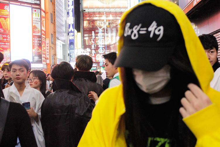 ハハノシキュウ、渋谷のハロウィンに放り込まれて考える