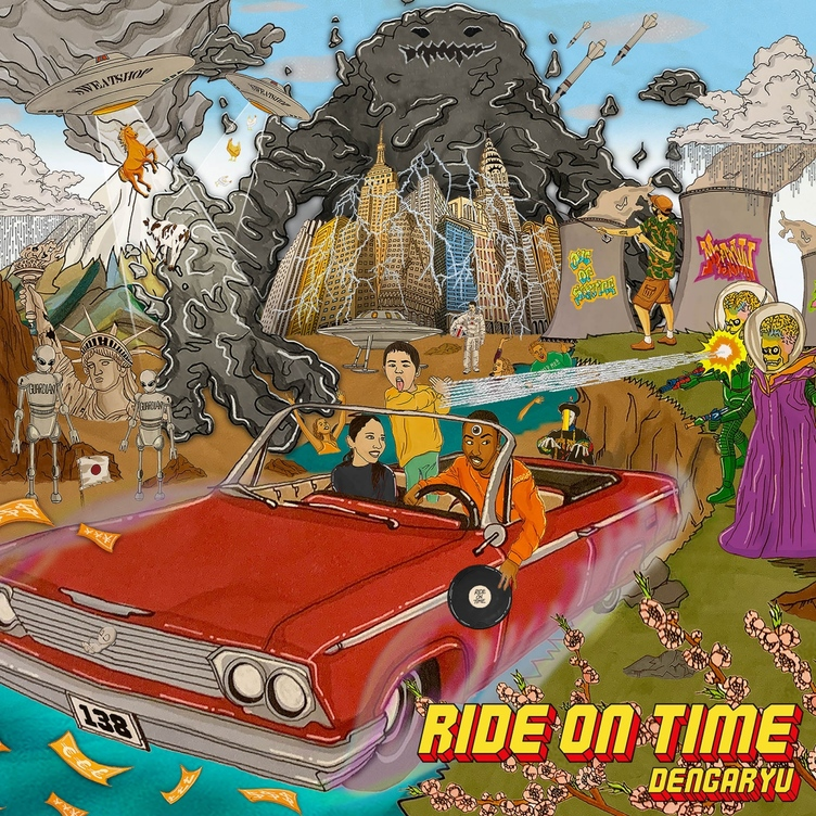 田我流の3rdアルバム『Ride On Time』 EVISBEATS、KM、C.O.S.A.も参加