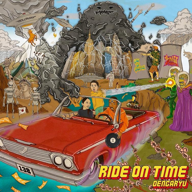 田我流の3rdアルバム『Ride On Time』 EVISBEATS、KM、C.O.S.A.も参加