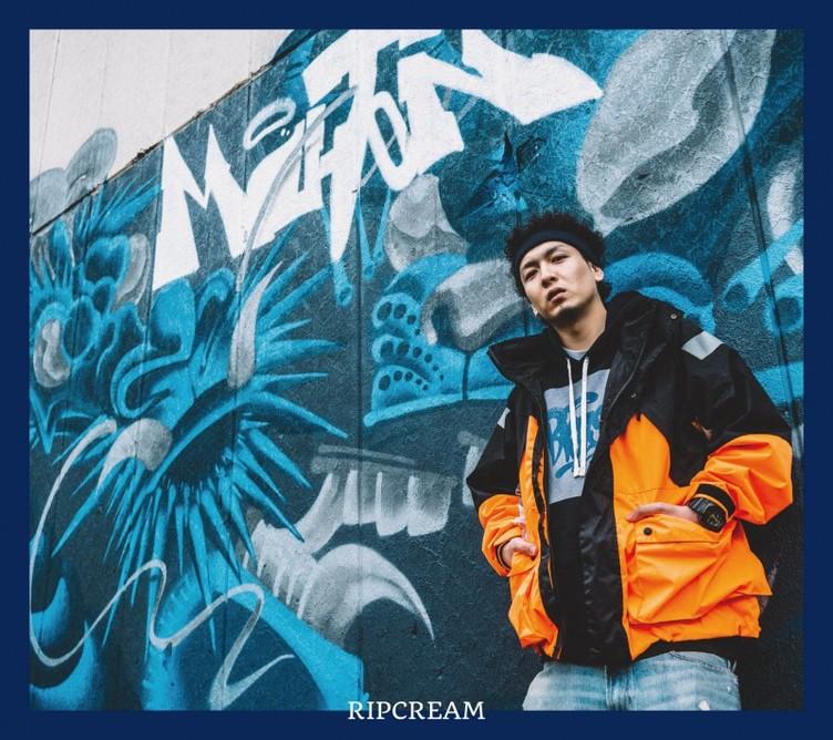 MU-TONの1stアルバム『RIPCREAM』ジャケ写公開 Nasの盟友も参加