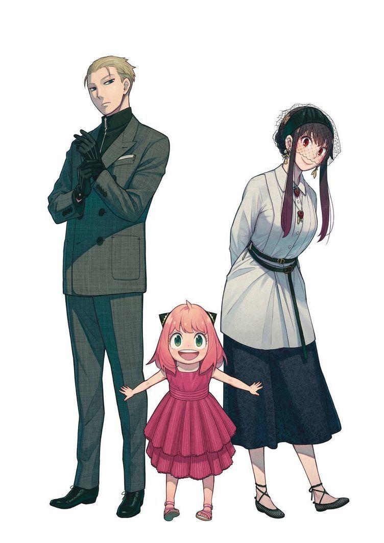 『SPY×FAMILY』ロイド、ヨル、アーニャとDior 遠藤達哉が描くモードな3人