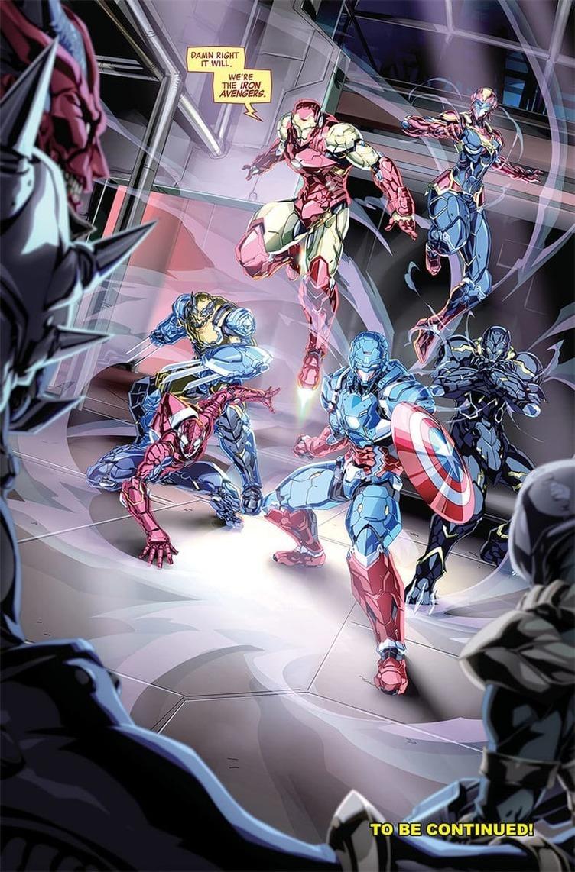マーベル×BANDAI コミックとフィギュアが連動する「TECH-ON AVENGERS」