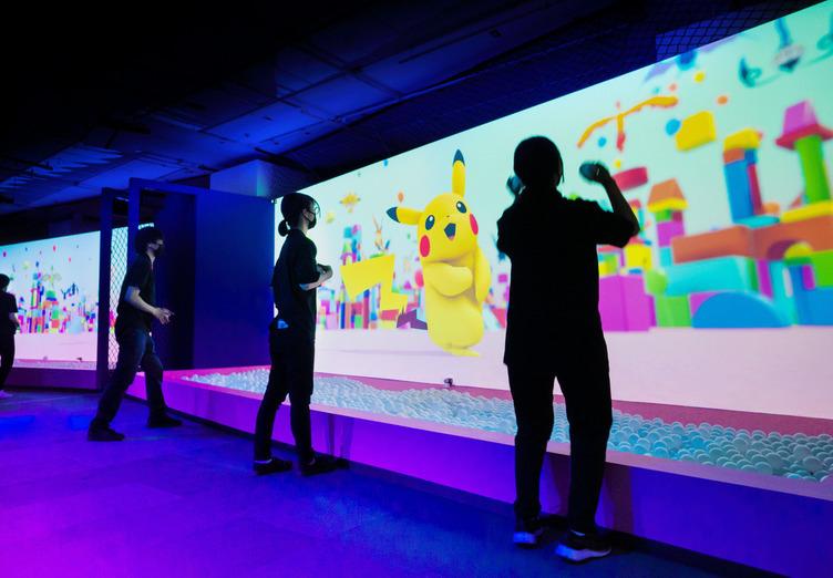 ピカチュウたちポケモンと遊ぶ色彩の体験型イベント「POKÉMON COLORS」