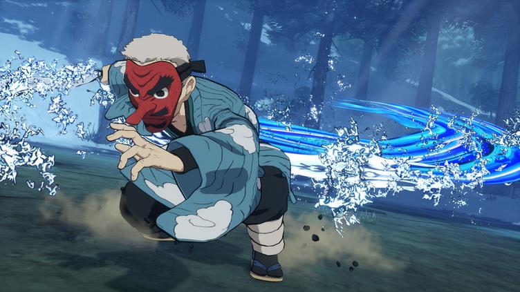 『鬼滅の刃 ヒノカミ血風譚』に鱗滝左近次が参戦 元柱として水の呼吸で勝負