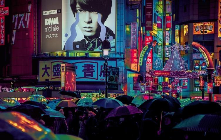 サイバーパンクなネオ東京 『アサシンクリード』のゲームデザイナーが撮影