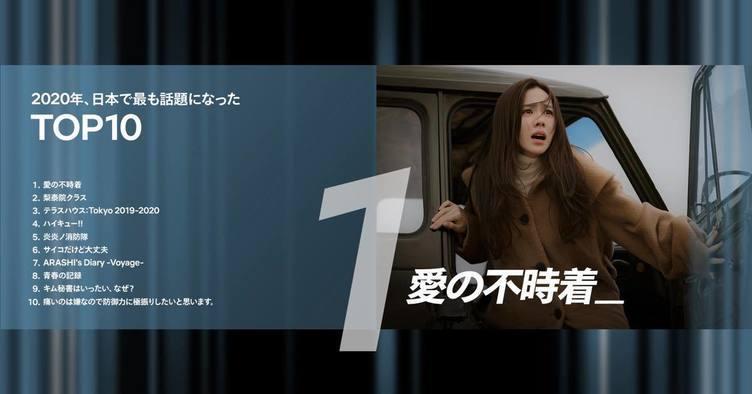 """Netflixの2020年話題作TOP10 アニメは『日本沈没2020』が最も""""勢い""""ある作品に"""
