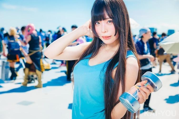【写真】C96 日差しより眩しい美女コスプレイヤー 熱い夏は続く